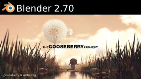 Blender 2.70 splash screen